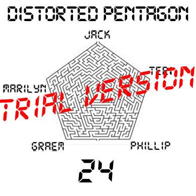 Distorted pentagon
